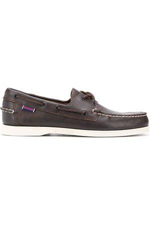 SEBAGO Men Loafers - Lace-detail boat shoes