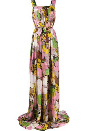 La DoubleJ Mimosa floral print dress