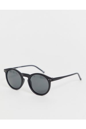 ASOS Round sunglasses in plastic with smoke lens