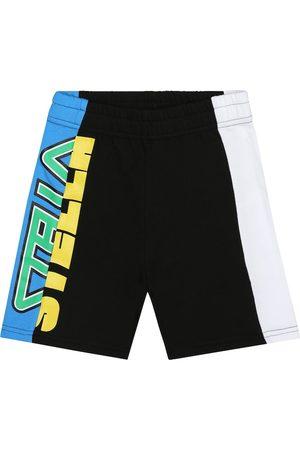 Stella McCartney Logo cotton shorts