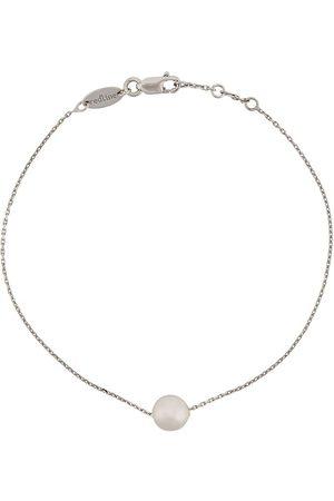 Redline 18kt white and akoya pearl bracelet