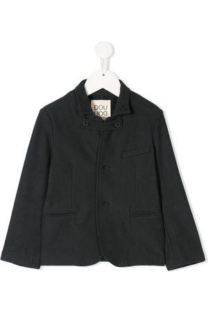 DOUUOD KIDS Button tab jacket