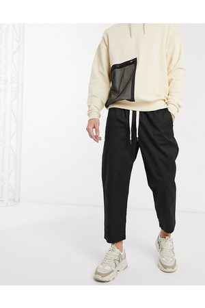 Reclaimed Vintage Cropped relaxed trouser in