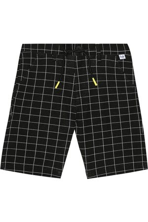 Il gufo Checked cotton Bermuda shorts