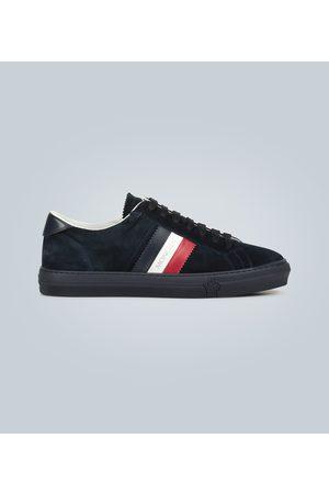 Moncler New Monaco suede sneakers