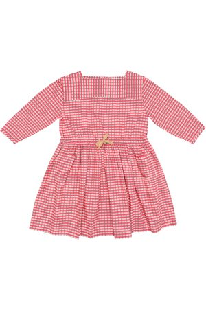 Caramel Knightsbridge checked cotton dress