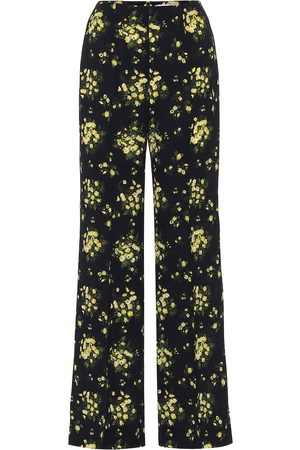 EMILIA WICKSTEAD Hulline stretch-crêpe wide-leg pants