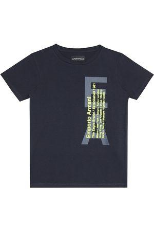 Emporio Armani Logo stretch-cotton T-shirt