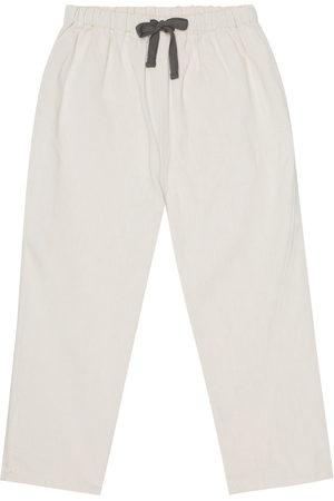 Caramel Chelsea cotton pants