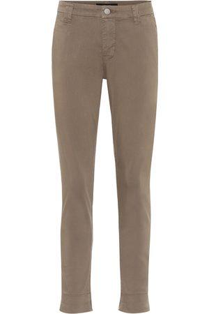 J Brand Paz mid-rise cotton-blend pants