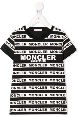 Moncler All-over logo print T-shirt