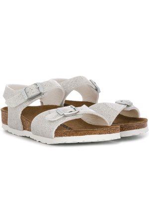 Birkenstock Metallic glitter sandals