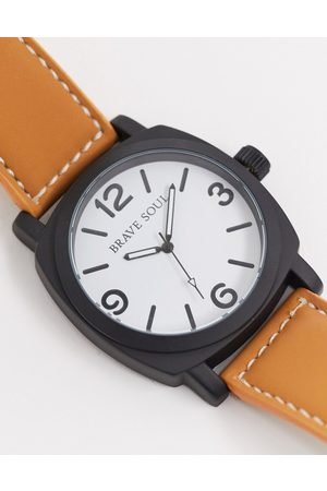 Brave Soul Watch with white dial