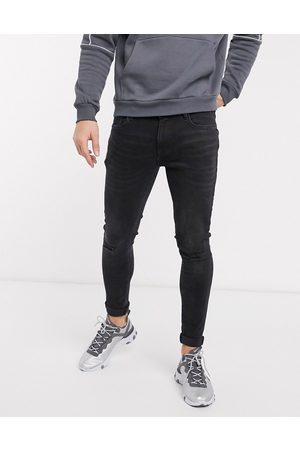 River Island Spray on skinny jeans in washed