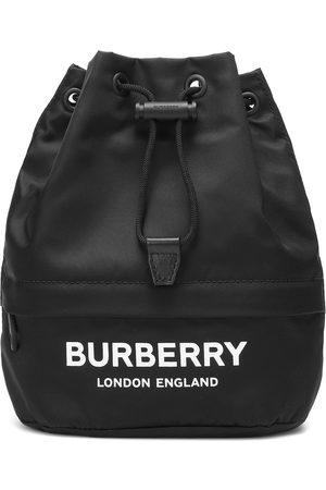 Burberry Phoebe nylon drawstring pouch