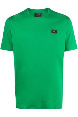 Paul & Shark Logo-patch crew neck T-shirt