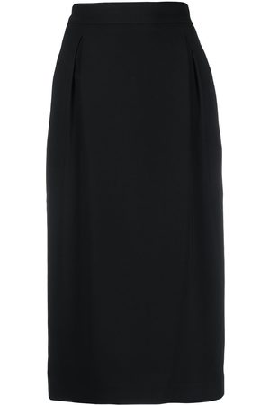 VERSACE High-waisted pencil skirt