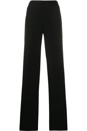Emporio Armani High-waisted wide leg trousers