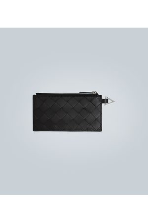 Bottega Veneta Zipped leather cardholder