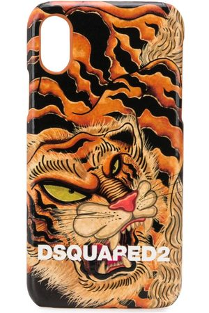 Dsquared2 Tiger print iPhone X case