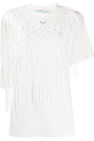 OFF-WHITE Crochet layer arrow T-shirt