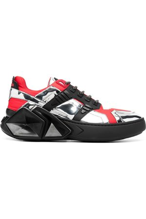 HIDE&JACK Panelled low-top sneakers