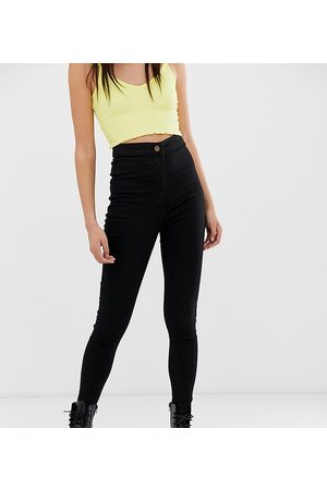 COLLUSION X002 super skinny high waist jeans in clean
