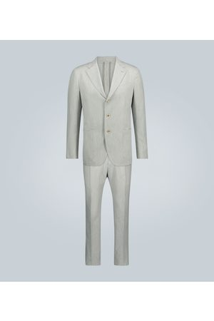 CARUSO Striped-patterned suit
