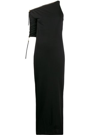 Gianfranco Ferré 1990s one shoulder fitted dress