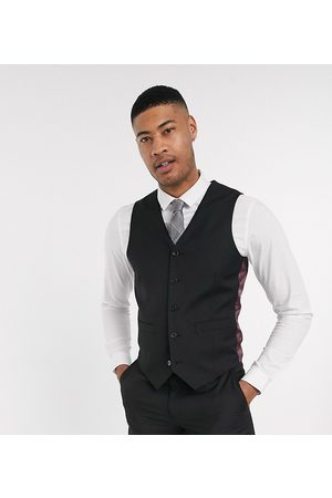 ASOS Men Waistcoats - Tall slim suit waistcoat in