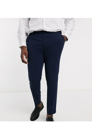 ASOS Plus super skinny suit trousers in four way stretch in