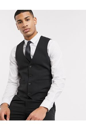 ASOS Super skinny suit waistcoat in four way stretch in