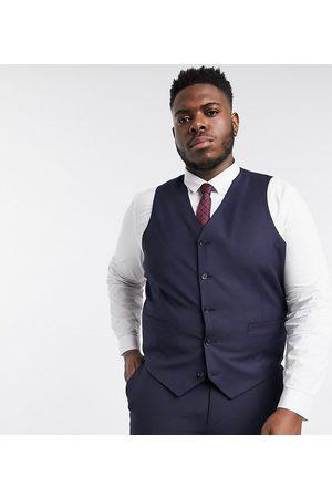 ASOS Plus slim suit waistcoat in