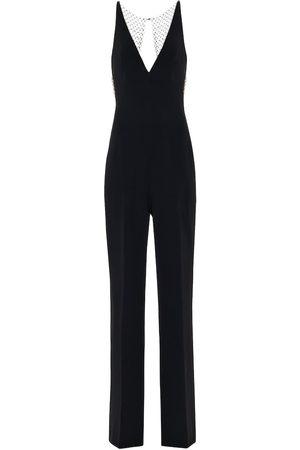 Stella McCartney Embellished stretch-crêpe jumpsuit