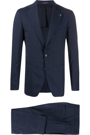 TAGLIATORE Slim-fit checked suit
