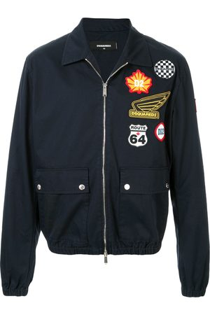 Dsquared2 Patchwork bomber jacket