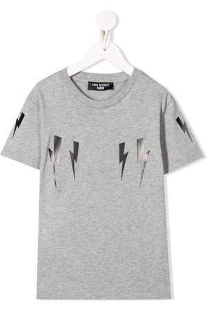 Neil Barrett Lightning bolt-print T-shirt