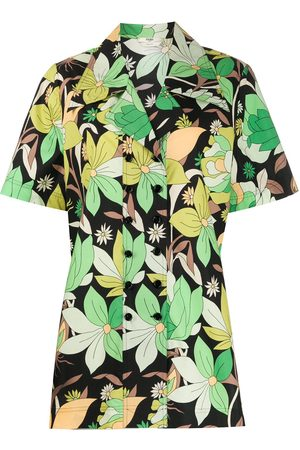 Fendi Floral shortsleeved shirt