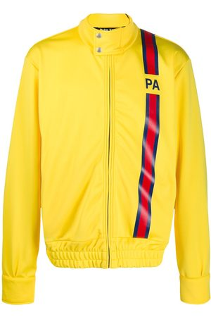 Palm Angels Logo stripe track jacket