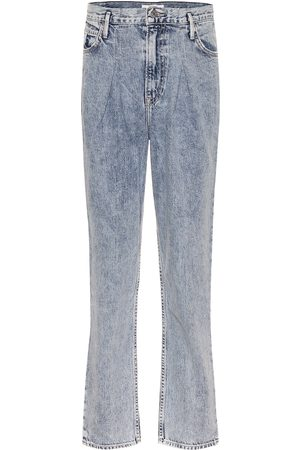 GRLFRND Teagan high-rise straight jeans
