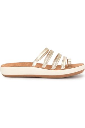 Ancient Greek Sandals Niki metallic sandals