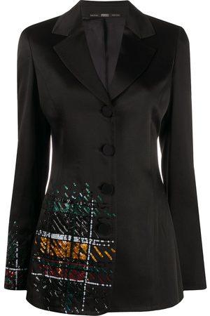 Gianfranco Ferré 1990s sequin embroidered blazer