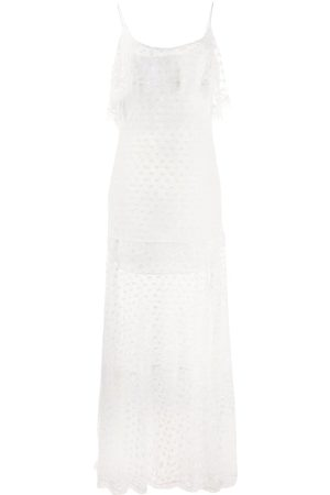 Roberto Cavalli Lace trimmed dress