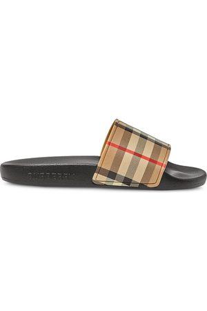 Burberry Vintage Check Slide sandals