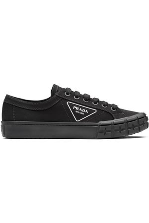 Prada Gabardine Wheel low-top sneakers