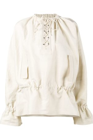 J.W.Anderson Lace-up front top