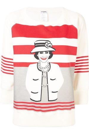 CHANEL 2001s mademoiselle long sleeve tops sweatshirt