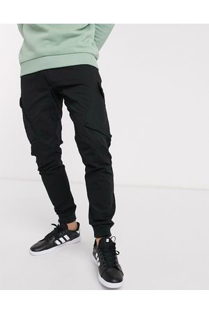 River Island Men Cargo Pants - Parker cargo trousers in