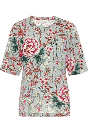 Etro Women Short Sleeve - Floral jersey T-shirt