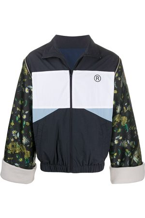 MARTINE ROSE Contrasting lightweight sports jacket
